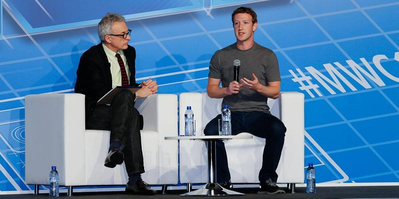 Mark Zuckerberg as keynote speaker at Mobile World Congress 2014