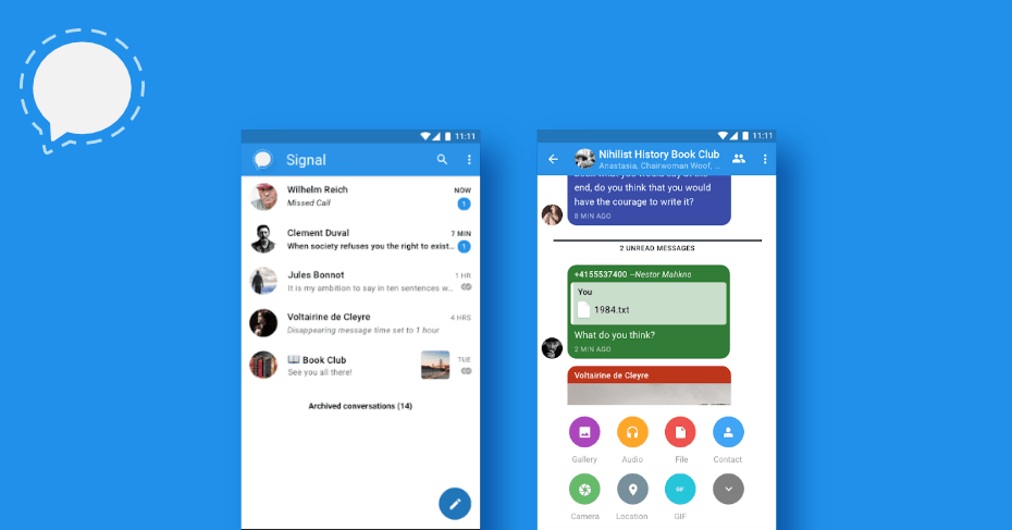 Telegram, messaging apps for android