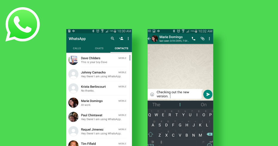 messaging apps for android, whatsapp