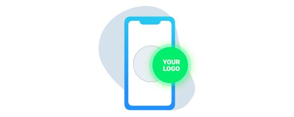 team communication, branded chatting app